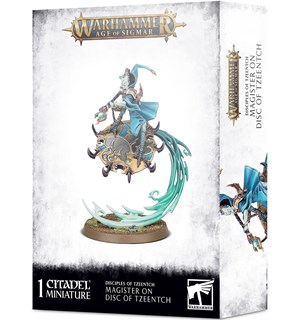 Disciples of Tzeentch Magister on Disc Warhammer Age of Sigmar