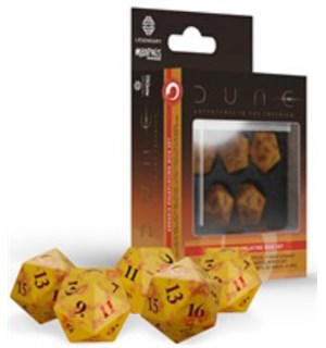 Dune RPG Dice Set Arrakis