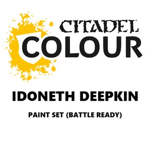 Idoneth Deepkin Paint Set Battle Ready Paint Set for din hær