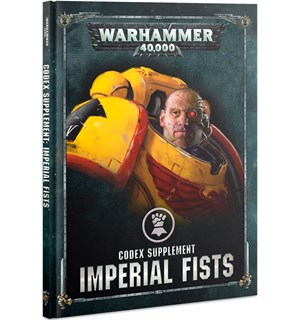 Imperial Fists Codex Supplement Warhammer 40K