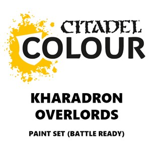 Kharadron Overlords Paint Set Battle Ready Paint Set for din hær