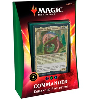 Magic Commander Deck Enhanced Evolution Ikoria Lair of Behemoths - 100 kort