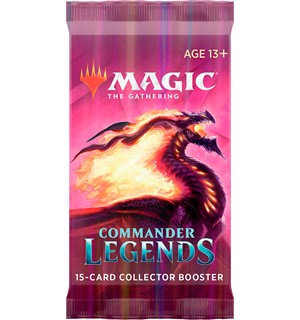 Magic Commander Legends Coll Booster Collector Booster - 15 kort
