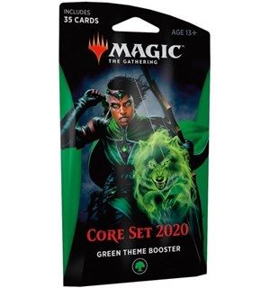 Magic Core Set 2020 Theme Booster Green Theme Booster - 35 grønne kort