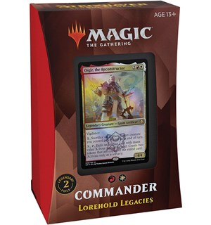 Magic Strixhaven Commander Lorehold Lorehold Legacies - Commander Deck