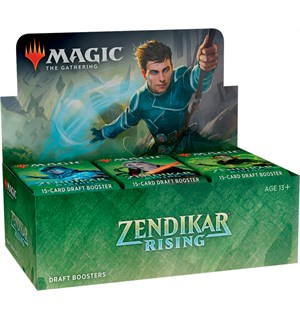 Magic Zendikar Rising DRAFT Display 36 boosterpakker - Fabrikkforseglet