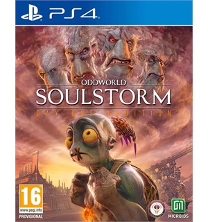 Oddworld Soulstorm Day 1 Ed PS4 Day One Oddition