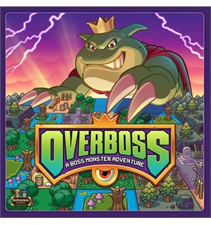 Overboss Brettspill A Boss Monster Adventure