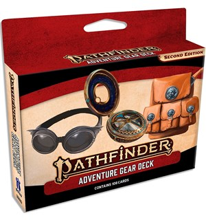 Pathfinder 2nd Ed Adventure Gear Deck Second Edition RPG - 108 kort