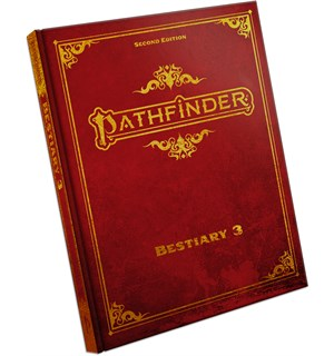 Pathfinder 2nd Ed Bestiary 3 SE Second Edition RPG - Special Edition