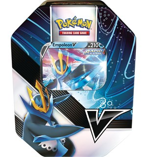 Pokemon Tin Box Empoleon V V Strikers Summer 2021