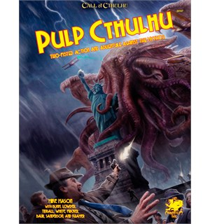Pulp Cthulhu RPG Core Book Call of Cthulhu RPG Supplement