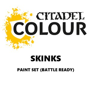 Skinks Paint Set Battle Ready Paint Set for din hær