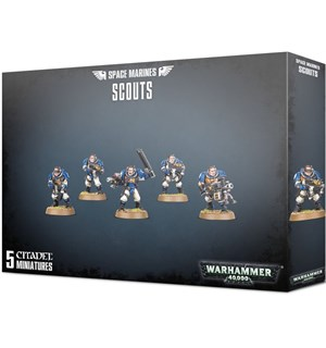 Space Marines Scouts Warhammer 40K