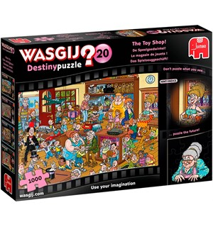 Wasgij Destiny 20 Puslespill The Toy Shop