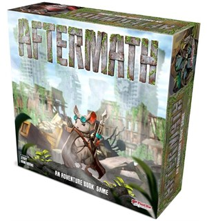 Aftermath Brettspill An Adventure Book Game