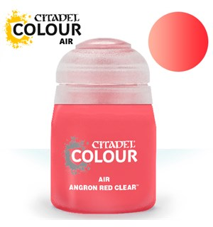Airbrush Paint Angron Red Clear 24ml Maling til Airbrush