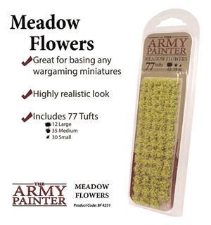 Army Painter Meadow Flowers Tuft Battlefields XP 4231