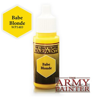 Army Painter Warpaint Babe Blonde