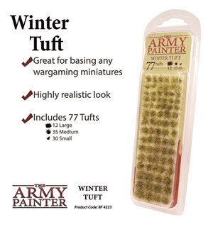 Army Painter Winter Tuft Battlefields XP 4223