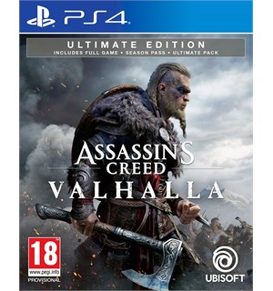Assassins Creed Valhalla Ultimate PS4 Ultimate Edition m/ Season Pass ++
