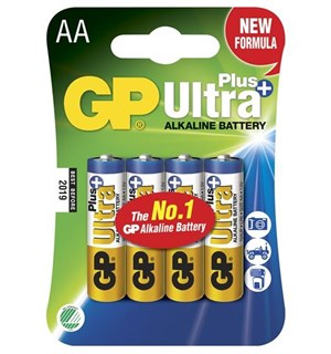 Batteri AA 4-pack GP Ultra Plus