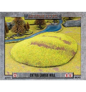 Battlefield in a Box Extra Large Hill Painted Tabletop Terrain - 15-35mm