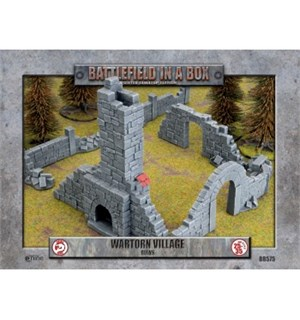 Battlefield in a Box Ruins Painted Tabletop Terrain - 25-35mm