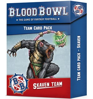 Blood Bowl Cards Skaven Team