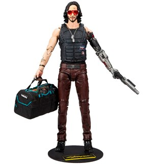 Cyberpunk 2077 Figur Johnny Silverhand Action Figure - 18 cm