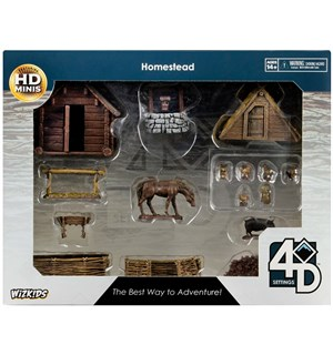 D&D Figur 4D Setting Homestead