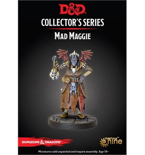 D&D Figur Coll. Series Mad Maggie Dungeons & Dragons Collectors Series