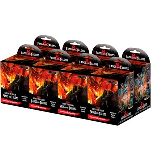 D&D Figur Icons Fangs & Talons x32 Display - 8 bokser á 4 figurer per boks