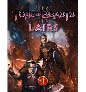 D&D Suppl. Tome of Beasts 2 Lairs Dungeons & Dragons Supplement