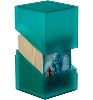 DeckBox Boulder 120 kort Malachite Samleboks Ultimate Guard 10 x 8 x 7,5 cm