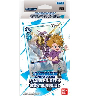 Digimon TCG Starter Deck Cocytus Blue Digimon Card Game - ST-2