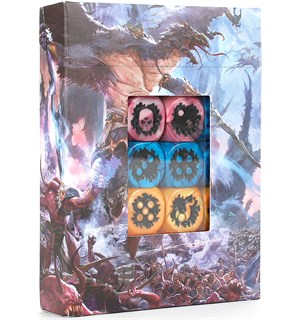 Disciples of Tzeentch Dice Set Warhammer Age of Sigmar