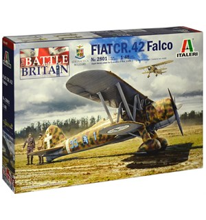 Fiat CR.42 Falco 1:48 Italeri Byggesett