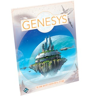 Genesys Game Masters Screen GM Skjerm for Game Masters