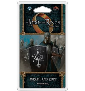 LotR TCG Wrath and Ruin Expansion Utvidelse Lord of the Rings Card Game