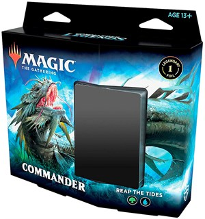 Magic Commander Deck Reap the Tides Commander Legends - 100 kort