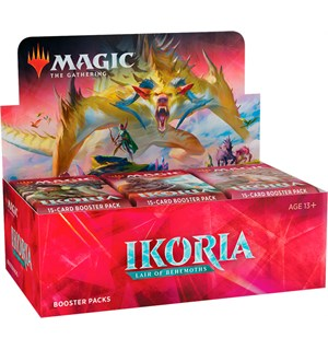 Magic Ikoria Lair of Behemoths Display 36 boosterpakker m/ Box Topper kort