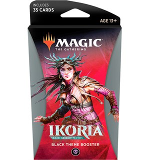 Magic Ikoria Theme Booster Black Lair of Behemoths - 35 svarte kort