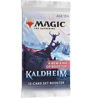 Magic Kaldheim SET Booster 12 kort