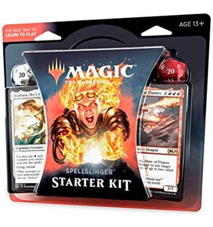 Magic Spellslinger Starter Kit Lær å spille Magic!