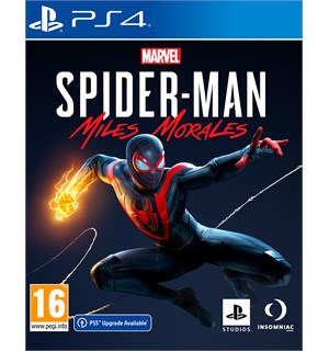 Marvel Spider-Man Miles Morales PS4