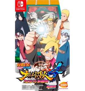 Naruto Ultimate Ninja Storm 4 Switch Road to Boruto