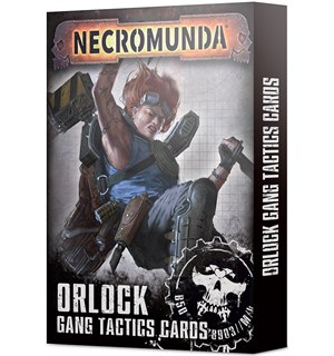 Necromunda Cards Orlock Gang Tactics