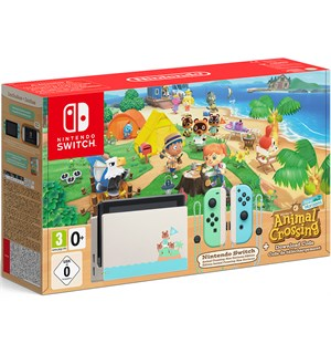 Nintendo Switch Konsoll Animal Crossing Animal Crossing New Horizons Edition