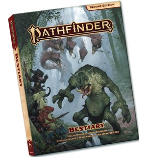 Pathfinder 2nd Ed Bestiary Pocket Second Edition RPG - Pocket Edition